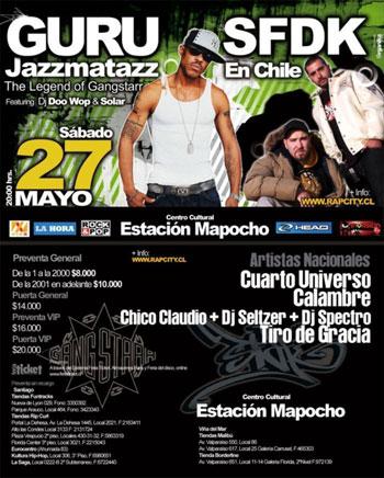 GURU + SFDK en Chile - Mayo 2006