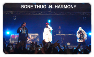 Bone Thugs -N- Harmony en Chile 2007