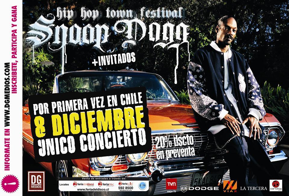 Snoop Dogg en Chile - Diciembre 2007