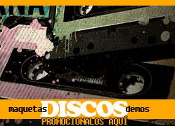 Promos de Artistas y Discos