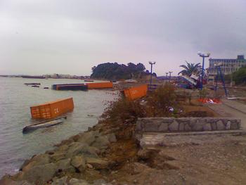 Terremoto + Tsunami en Talcahuano
