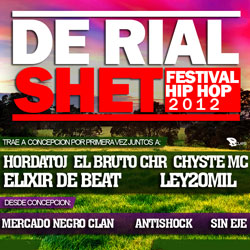 De Rial Shet / Festival Hip-Hop en Concepción