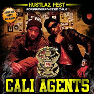 CALI AGENTS (Planet Asia + Rasco) en Chile