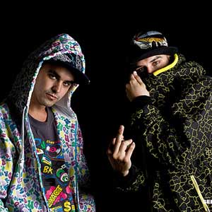 Tote King + Shotta en Chile