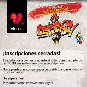 VTR SPRAY 2013 Invitación