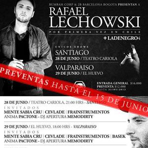 RAFAEL LECHOWSKI EN CHILE