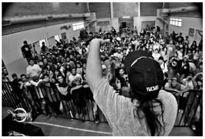 MC Aste - Encuentro internacional ELEMENTAL 2013 – Comodoro Rivadavia