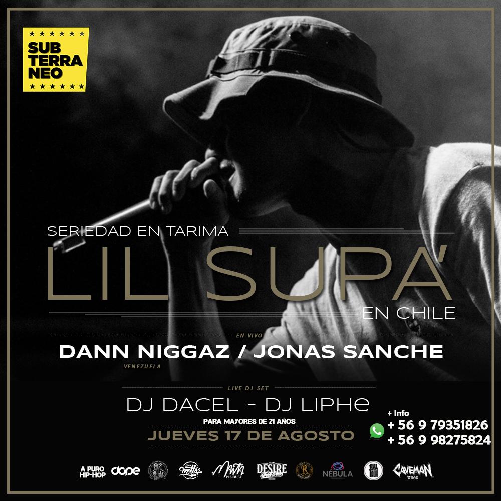 Seriedad En Tarima presenta a Lil Supa  en Chile - Imperio Hip-Hop f06a878ac7a