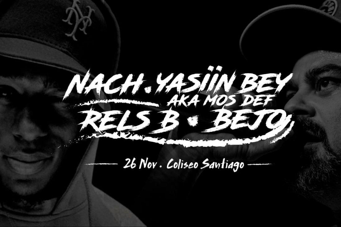 Frontera presenta a Yasiin Bey (Mos Def) y Nach en Chile - Imperio ... 941723a9c47